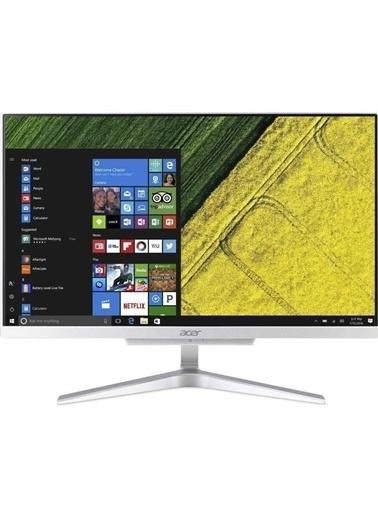 """Acer C22-865 DQ.BBSEM.016S2 i5-8250U 8GB 500GB+128SSD 21.5"""" Lnx AllinOne Renkli"""